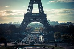 Bella torre Eiffel Parigi immagine stock