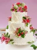 Bella torta Fotografie Stock Libere da Diritti