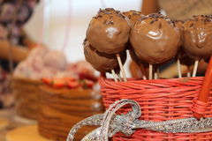 Bella torta Fotografie Stock