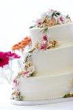 Bella torta di cerimonia nuziale Fotografia Stock Libera da Diritti