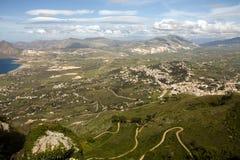 Bella valle Fotografie Stock Libere da Diritti