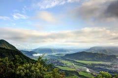 Bella valle di pokhara Immagine Stock Libera da Diritti