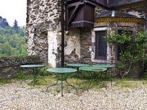 Bella vecchia casa abbandonata Immagine Stock
