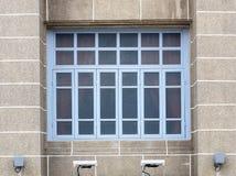 bella vecchia costruzione anteriore stile europea Fotografia Stock