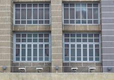 bella vecchia costruzione anteriore stile europea Fotografia Stock Libera da Diritti