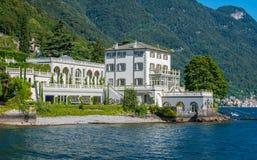 Bella villa in Torriggia, lago Como, Lombardia, Italia fotografie stock libere da diritti
