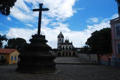 bella vista architettonica di vecchio paraÃba Brasile fotografia stock libera da diritti