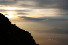 Bella vista da Fuji Immagini Stock Libere da Diritti