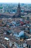 Bella vista dal lamberti della torre di Verona Immagine Stock
