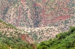 Bella vista dalla montagna Immagini Stock