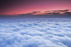 Bella vista del cielo Immagine Stock