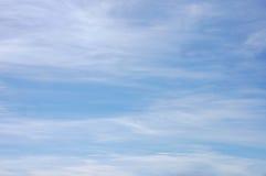 Bella vista del cielo Fotografia Stock Libera da Diritti