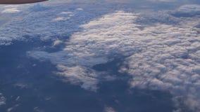 Bella vista del cloudscape video d archivio