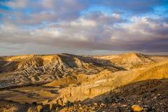 Bella vista del deserto Fotografie Stock Libere da Diritti