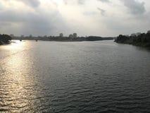 Bella vista del fiume Immagine Stock Libera da Diritti