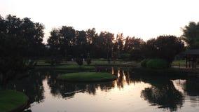 Bella vista del giardino Fotografia Stock Libera da Diritti