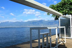 Bella vista del lago famoso nel Yunnan Fotografia Stock Libera da Diritti