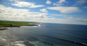 Bella vista del mare 4k stock footage