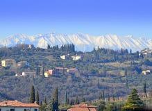 Bella vista del nord dell'Italia Immagine Stock Libera da Diritti