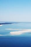 Bella vista del paesaggio della baia di Arrabida Immagine Stock