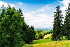 Bella vista del paesaggio di estate Fotografia Stock