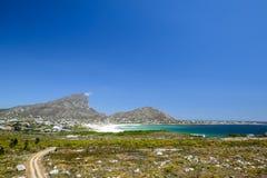 Bella vista della baia di Pringle, un piccolo villaggio della spiaggia situato lungo l'itinerario 44 nella zona orientale della b Immagini Stock Libere da Diritti