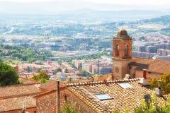 Bella vista della città antica di Perugia Fotografia Stock