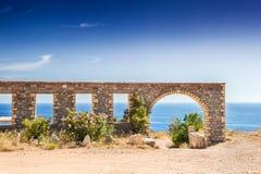 Bella vista della costa di mare fotografia stock libera da diritti