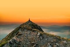 Bella vista della montagna fotografie stock libere da diritti