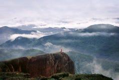 Bella vista della montagna fotografia stock libera da diritti