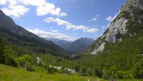 Bella vista delle alpi archivi video