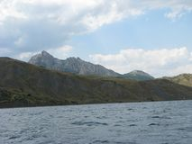Bella vista delle montagne Immagini Stock Libere da Diritti