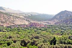 Bella vista delle montagne Immagini Stock