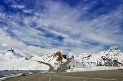 Bella vista delle montagne delle alpi Primavera in parco nazionale Hohe Tauern, Austria Immagine Stock Libera da Diritti