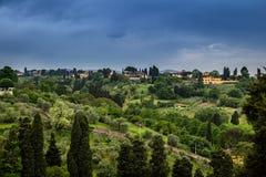 Bella vista di Firenze, Italia Immagini Stock Libere da Diritti