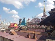 Bella vista di kremlin in Izmailovo, Mosca, Russia immagine stock