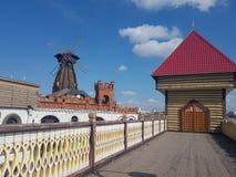 Bella vista di kremlin in Izmailovo, Mosca, Russia immagini stock