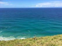 Bella vista di oceano della baia di Byron Immagine Stock