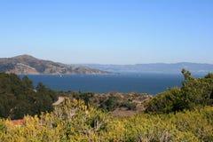 Bella vista di San Francisco Bay Fotografia Stock Libera da Diritti