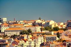 Bella vista di vecchia citt? di Lisbona, Portogallo Immagine Stock