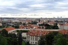 Bella vista di vecchia parte della città immagine stock libera da diritti