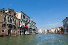 Bella vista di Venezia e di Grand Canal Fotografie Stock