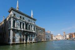 Bella vista di Venezia e di Grand Canal Palazzo Balbi Fotografia Stock Libera da Diritti