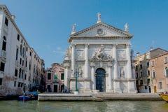 Bella vista di Venezia e di Grand Canal Palazzo Giovanelli Fotografia Stock