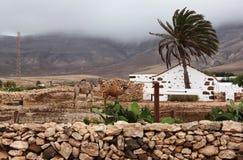 Bella vista in isole Canarie, Spagna Fotografia Stock