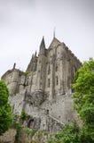 Bella vista medievale dell'abbazia Fotografia Stock Libera da Diritti