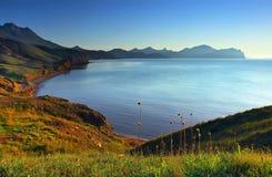 Bella vista sul mare Fotografie Stock
