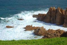 Bella vista sul mare australiana Immagini Stock