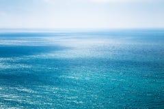 Bella vista sul mare nell'Oceano Atlantico Fotografia Stock Libera da Diritti