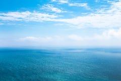 Bella vista sul mare nell'Oceano Atlantico Fotografie Stock